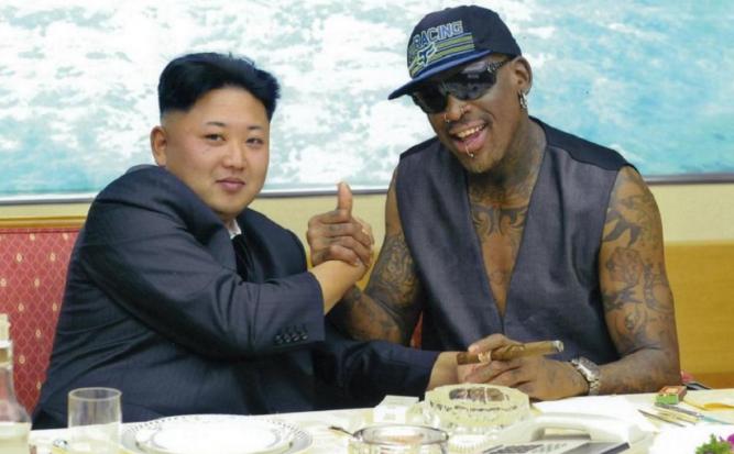 Денис Родман ракзаза как се напивал с Ким Чен Ун и руска водка в Северна  Корея